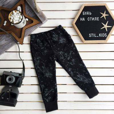 Утепленные штанишки, черный