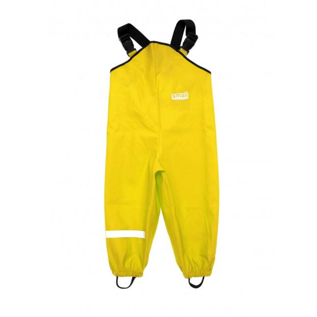 Полукомбинезон непромокаемый, желтый